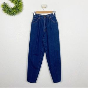 Vintage Jordache High Waisted Wedgie Mom Jeans